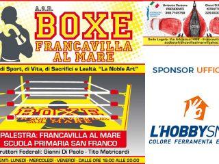 Hobby Snob sponsor ufficiale dell'A.S.D. BOXE Francavilla al Mare