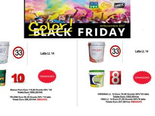 Black Friday? Da Hobby Snob è Color Friday!